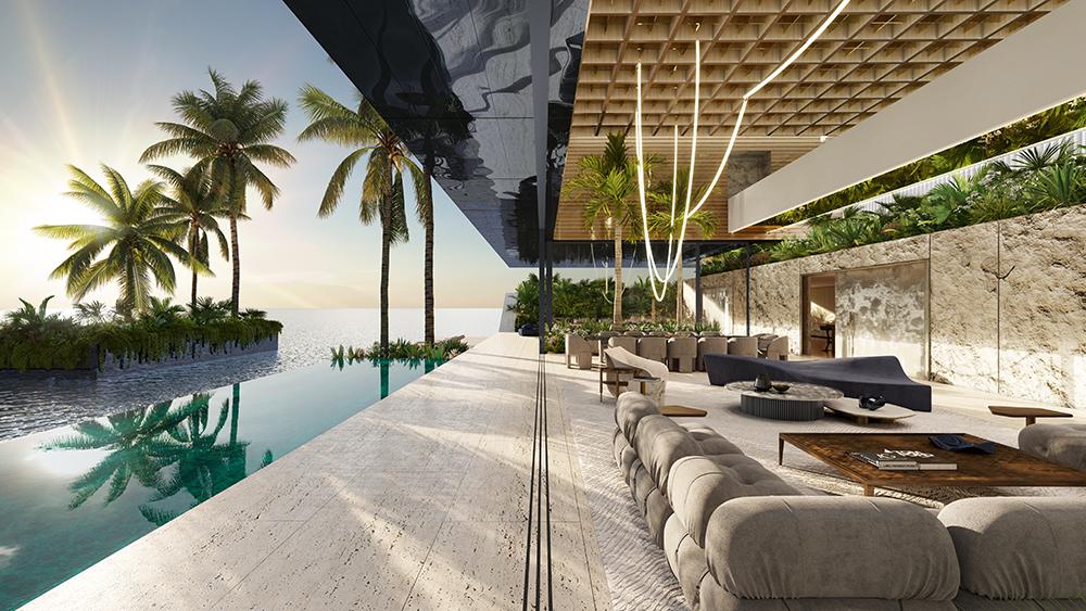 SAOTA Floating Villa Pool Terrace