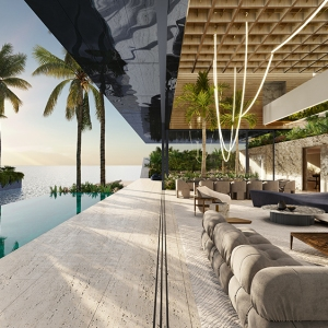 SAOTA Floating Villa Pool Terrace