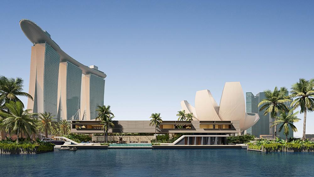 SAOTA Floating Villa Singapore Marina