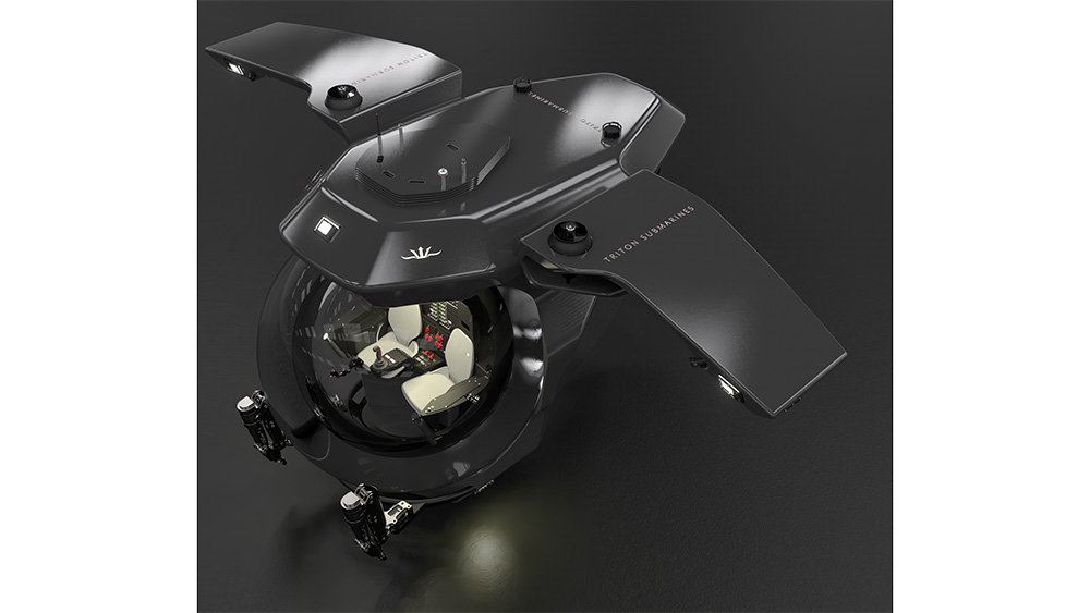 Triton submersible goes to the deepest parts of the ocean
