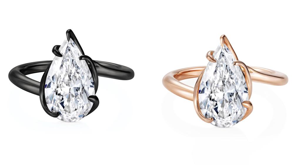 Thelma West Diamond Rings