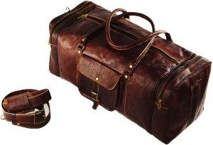 Urban Dezire Leather Duffel Bag