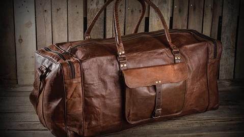 Urban Dezire Leather Duffel Bag