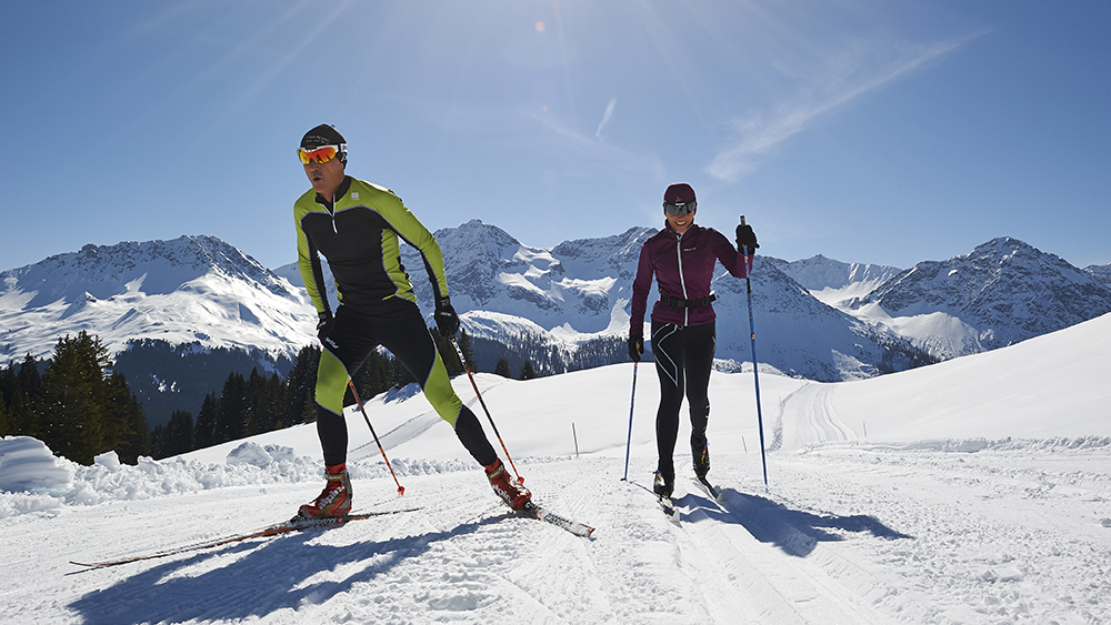 Ski touring in Switzerland