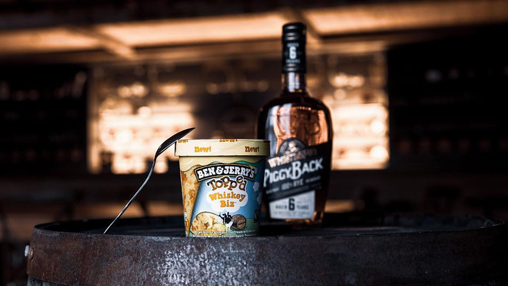 WhistlePig and Ben & Jerry's Whiskey Biz ice cream