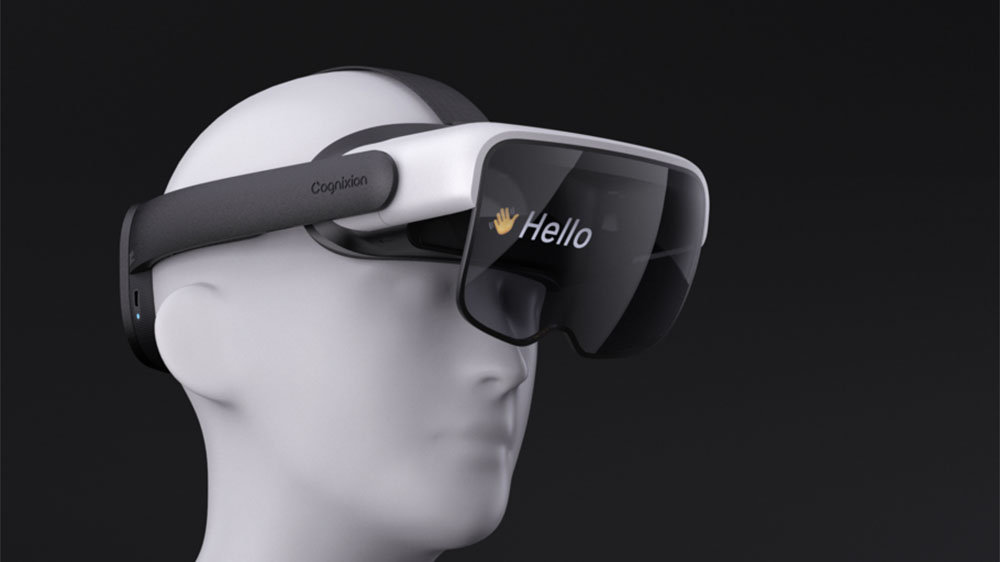 Cognixion ONE AR headset