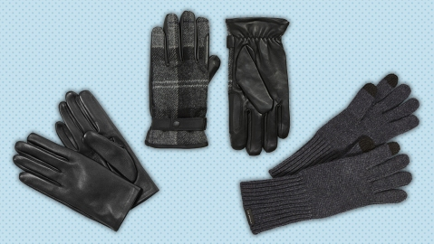 Gloves by Lavabre Cadet, Barbour and The Arrivals.