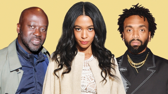 David Adjaye, Aurora James, Kerby Jean-Raymond
