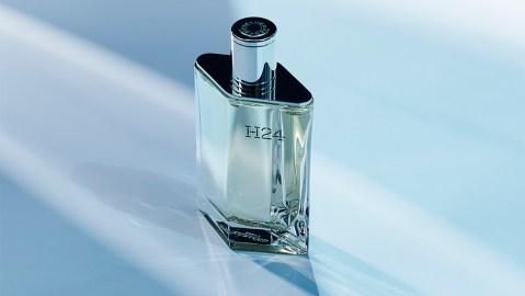 Hermès' H24 fragrance bottle