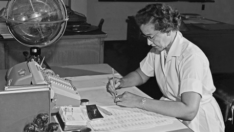 Katherine Johnson helped make space flight possible