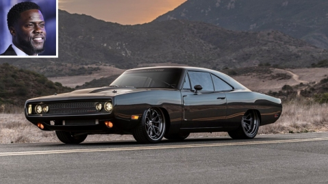 """Kevin Hart and the Speedkore 1970 Dodge Charger """"Hellraiser"""""""