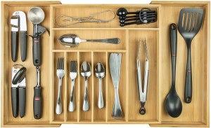 KitchenEdge Premium Flatware Organizer