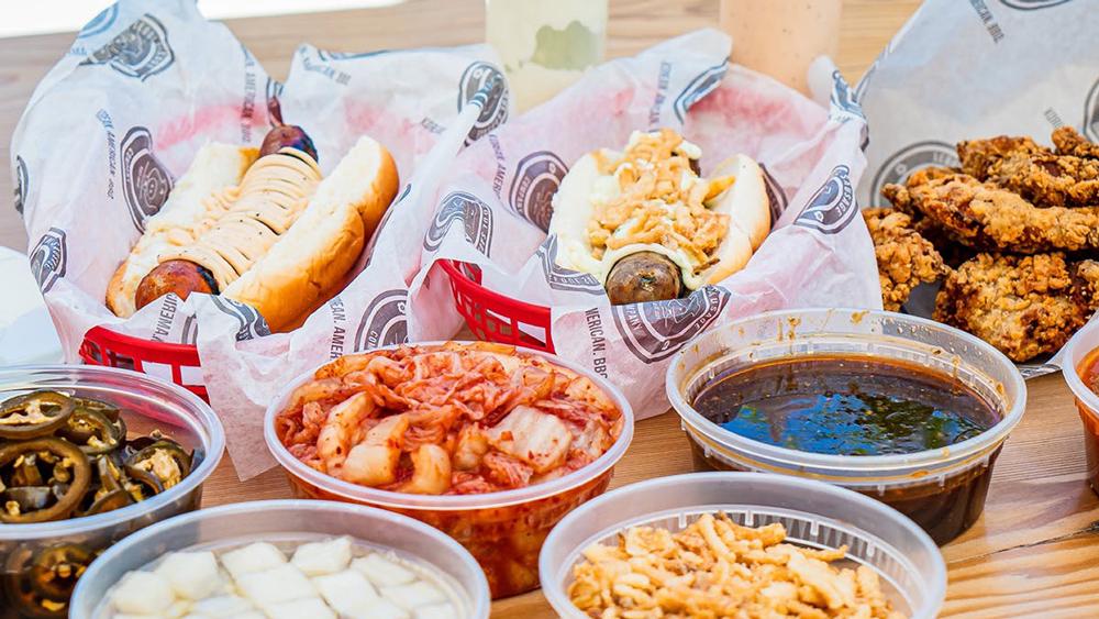 seoul sausage fried chicken kit