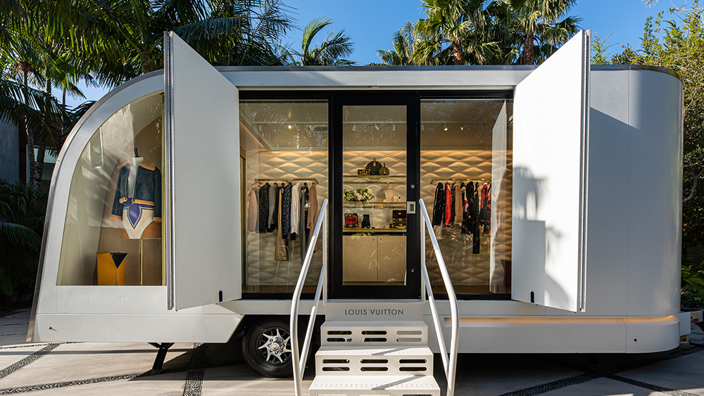 Louis Vuitton's LV by Appointment Trailer