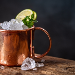 moscow mule copper mug