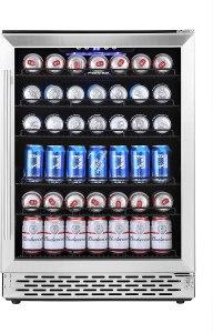 Phiestina Beverage Cooler Refrigerator