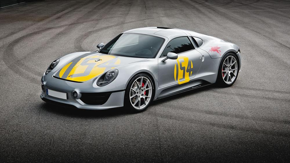 Porsche's Le Mans Living Legend design study