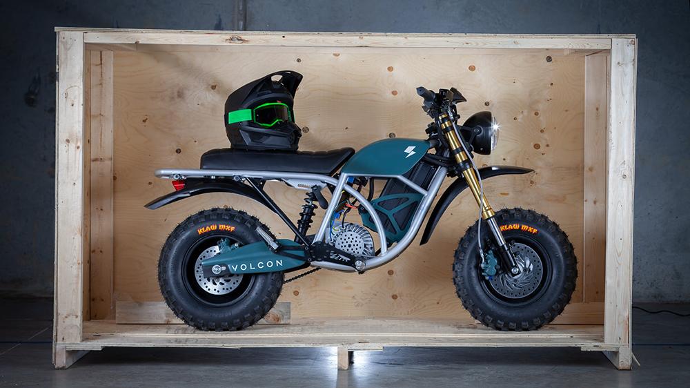 Volcon Runt electric motorcycle
