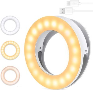 MercuryGo Selfie Ring Light