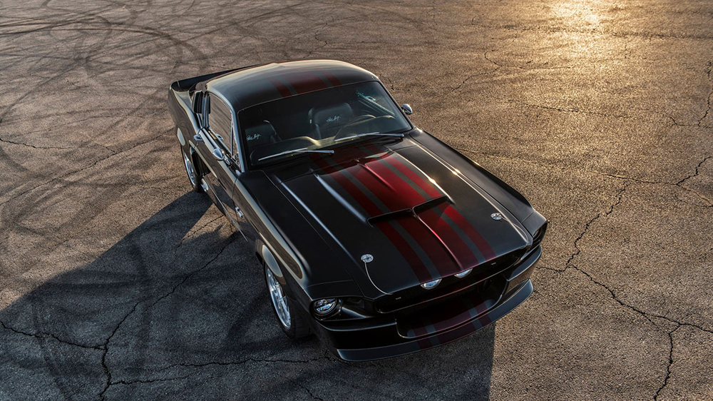Classic Recreations Carbon-Fiber 1967 Shelby GT500CR Mustang
