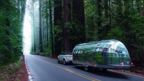 Bowlus's limited-edition Terra Firma traveler trailer