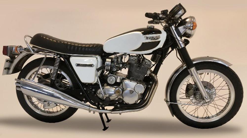 1978 Triumph Trident T160 750cc motorcyle