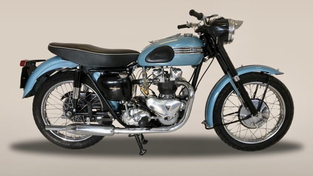 1956 Triumph Tiger T100 500cc motorcycle