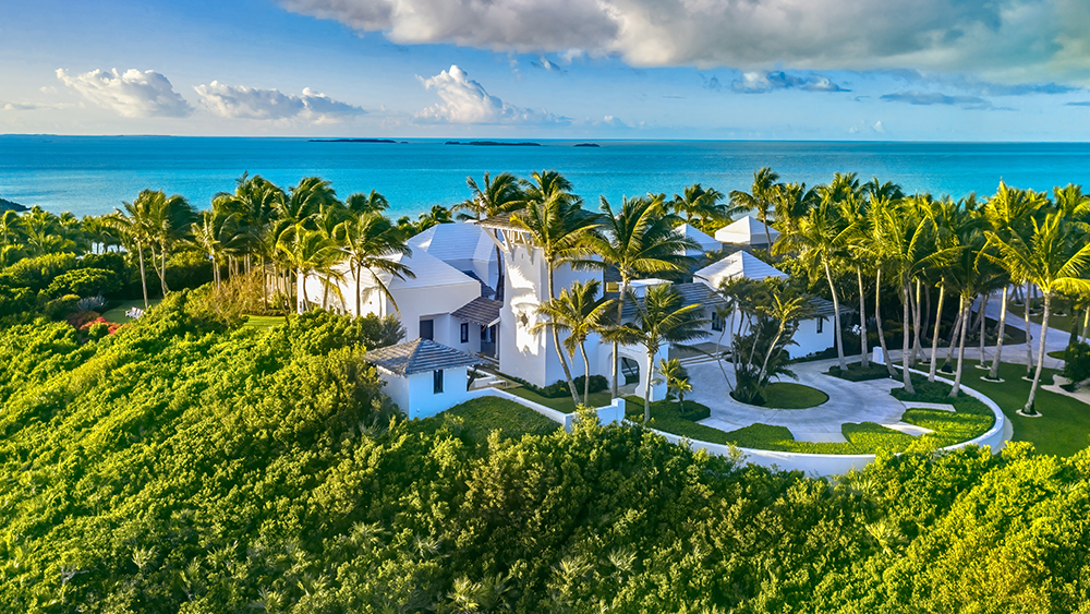 Tim McGraw and Faith Hill's island home in the Bahamas