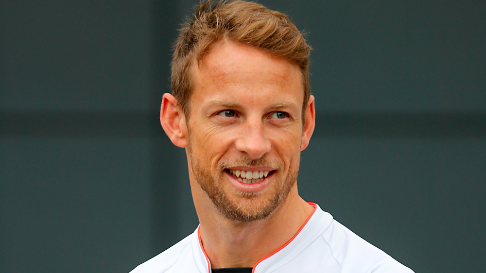 Former Formula 1 champion Jenson Button.