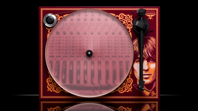 The Essential III–George Harrison turntable from Pro-Ject Audio Systems.