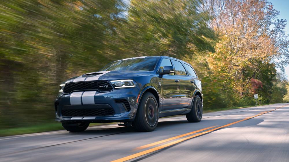 The 2021 Dodge Durango SRT Hellcat.