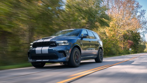 The 2021 Dodge Durango SRT Hellcat.