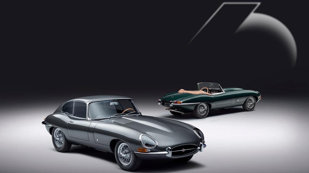 The Jaguar E-type 60 Collection.