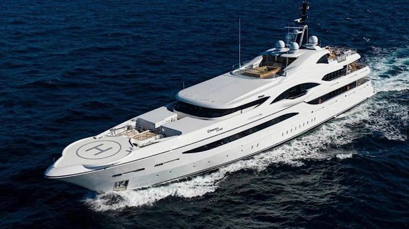 'Quantum of Solace' 238-foot Superyacht