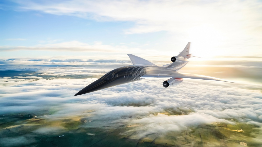 The Aerion AS3 is a supersonic commercial jet airliner that can fly at nearly 4000 mph
