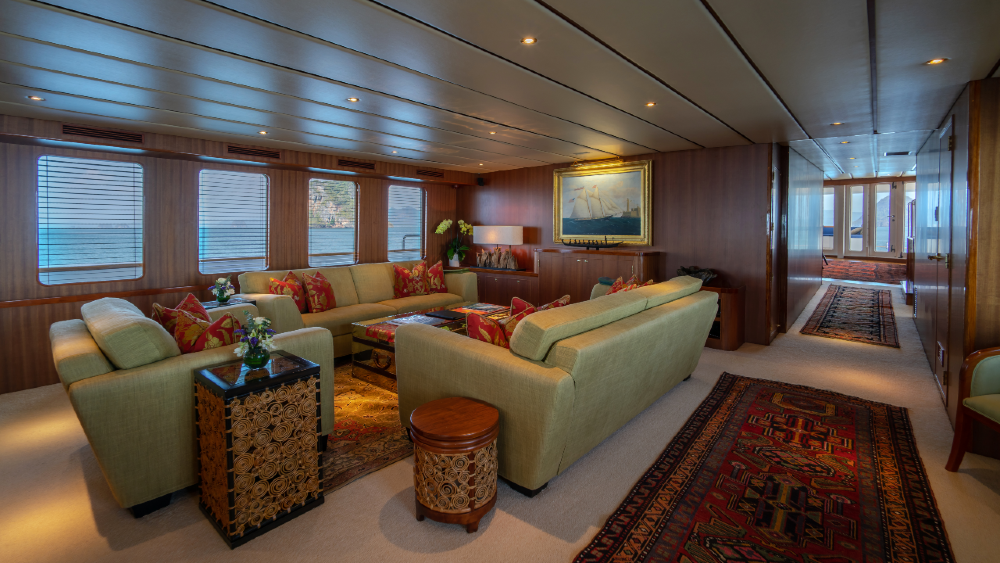 These superyacht owners have surrounded themselves by precious artwork