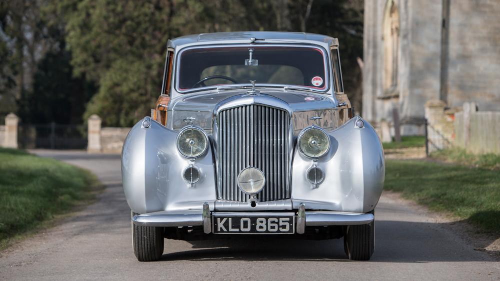 A A 1949 Bentley bodied by Radford.