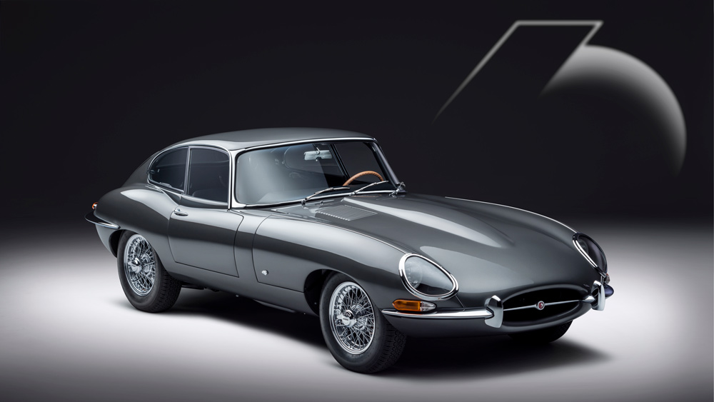 The Jaguar E-type 60 Collection's coupe.