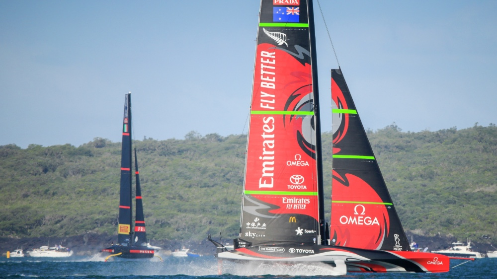 Team New Zealand Wins the America's Cup Twice in a Row