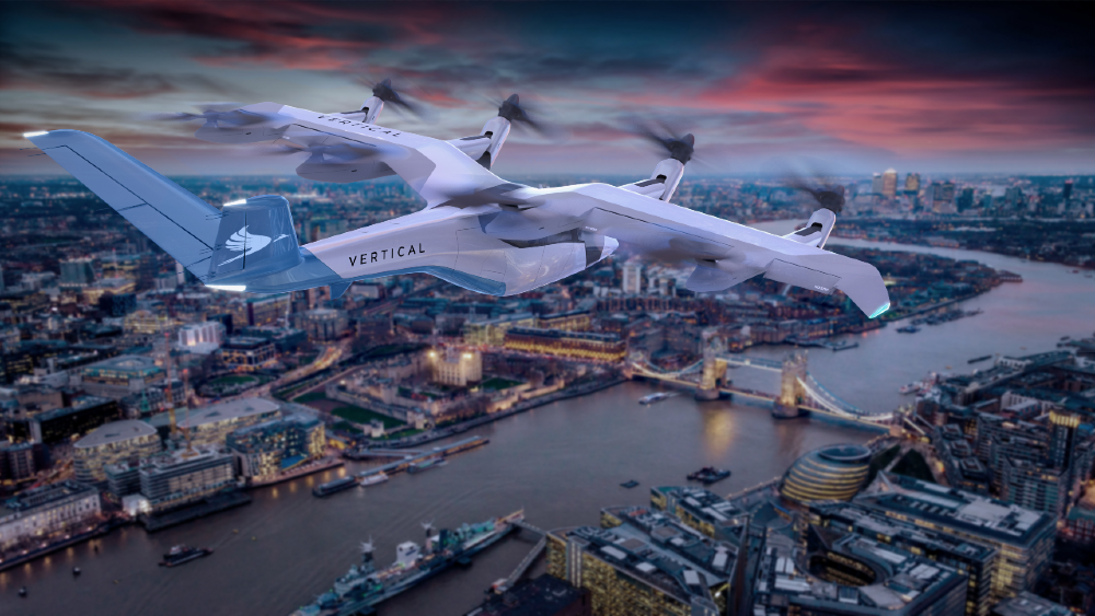 This eVTOL by Vertical Aerospace will be powered by Rolls-Royce