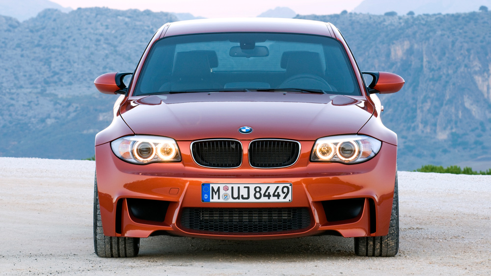 A 2011 BMW 1 Series M Coupe.