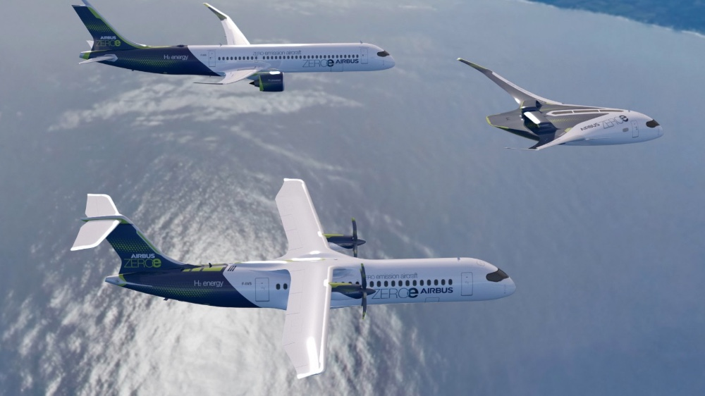 Airplane with hydrogen fuel cells revealed