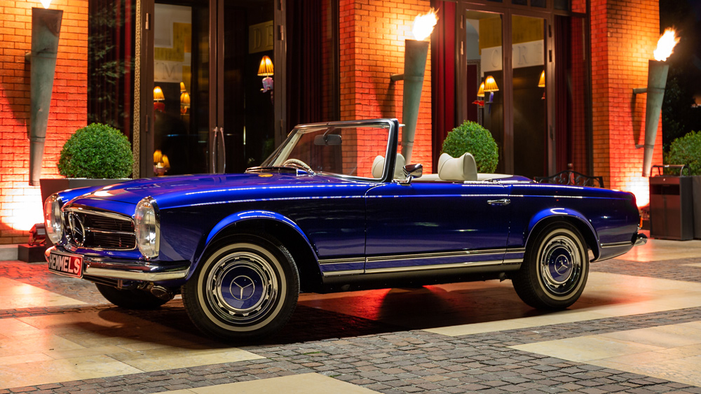 "An electric Mercedes-Benz 280SL ""Pagoda"" restomod from Hemmels."