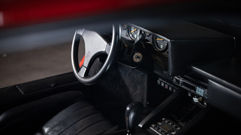 A look inside the 1989 Lamborghini Countach 25th Anniversary Edition being offered by Walt Grace Vintage.
