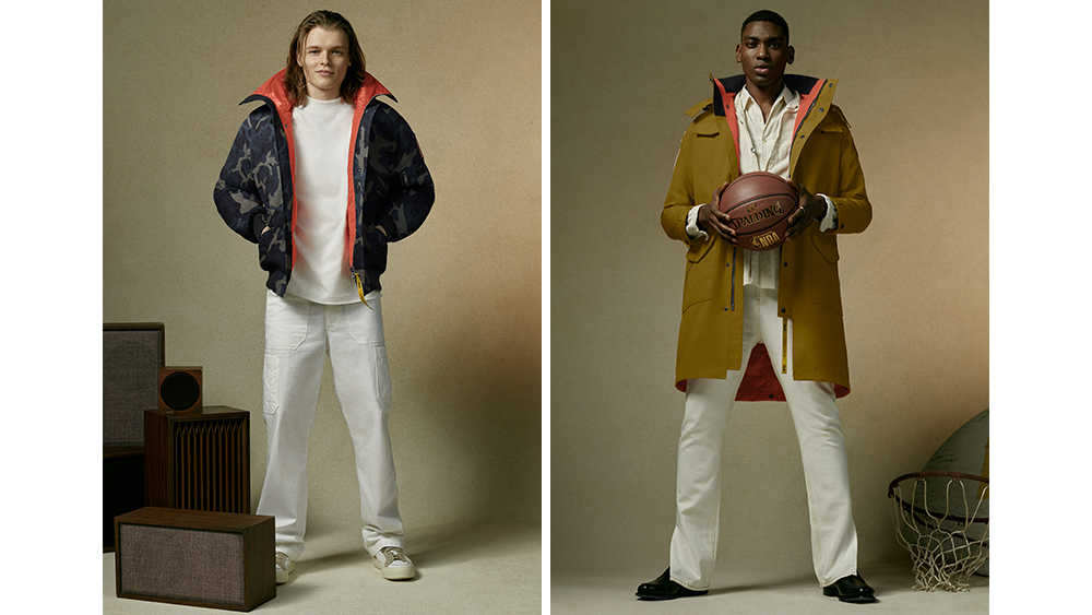 Variations of the 'Chilliwack' bomber ($1,095) and 'Portage' coat ($750).