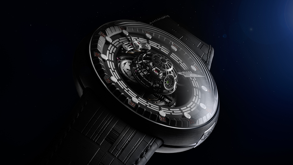 This $150,000 'Star Wars' Death Star Tourbillon Is Here to Welcome You to the Dark Side