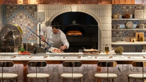 pizzaiolo oven don alfonso