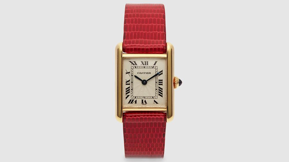 Harry Fane Cartier Ladys Tank LC Wristwatch