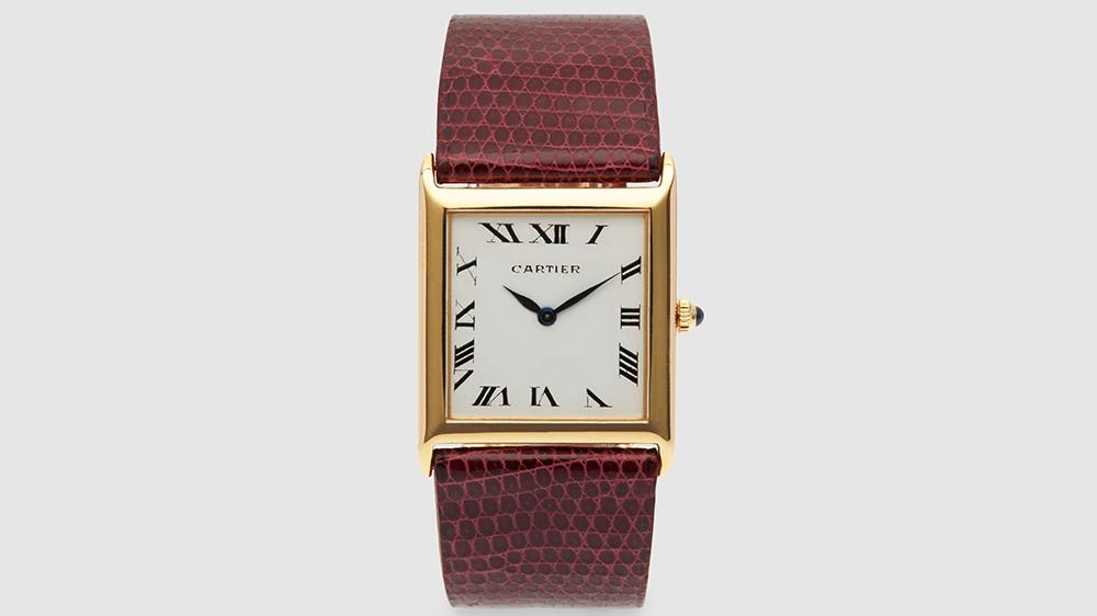 Harry Fane Cartier Piaget Tank Wristwatch