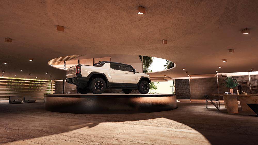 Design, Garage, Car, Home, Kelly Wearstler